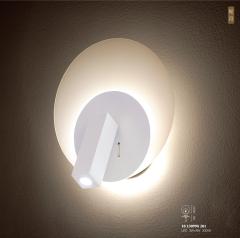 轮月系列3W+8W艺术壁灯3000K