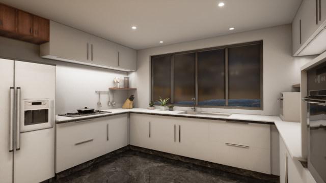 多维度满足局部作业需求的厨房灯光体验