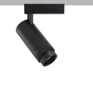 拉图系列/导轨灯/旋环调焦/9W/高显色/吸顶安装/钛色/4000K/15°-45° 可调