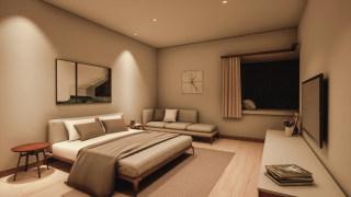 卧室无主灯灯光设计方案