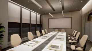 会议室功能型(上下光)灯光设计方案