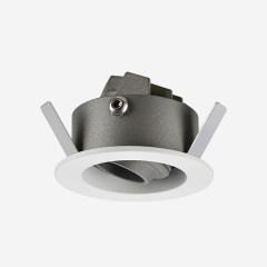 MINI系列防眩橱柜壁龛可调射灯 嵌入式开孔40mm 2W 3000k/4000k 家居办公商业