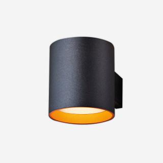 DUALWL杜尔室内空间双向照明壁灯/黑色