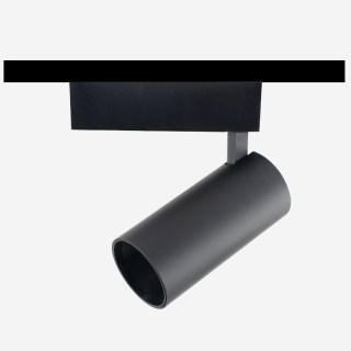 拉图系列/三线导轨灯射灯/深防眩/20W/高显色/内黑外钛/40°/4000K