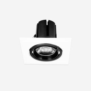 单头面板类嵌入高显筒射灯26W/32W开孔155x155mm办公商业