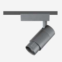 FOCUS X福克斯X10-60°可调焦射灯9W白色钛色轨道/吸顶家居酒店商用