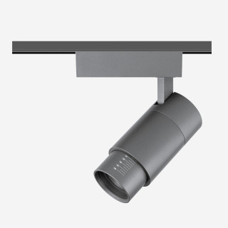 9W可调焦10-60°吸顶/壁装射灯钛色/3000K/616lm/吸顶安装
