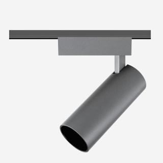 拉图系列15W导轨射灯/3000K/15°/吸顶安装/内黑外钛