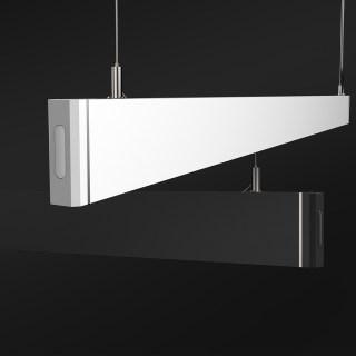 CRE31线形灯单灯/18W/吊装/黑色/下出光/3000K