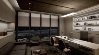 独立办公间功能型灯光设计方案