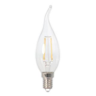 LED烛泡直灯丝灯BXS35透明拉尾2W/E27/2100K/200lm