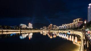 商业   韶关乳源瑶族自治县   城市夜景灯光设计案例
