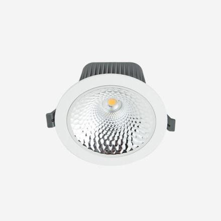 斯库玛 嵌入式筒灯9W/3000K/开孔80mm