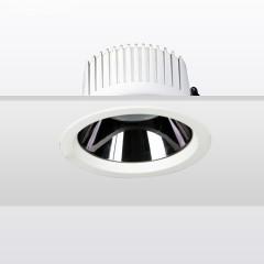 KAKA  FL036家用下照式超薄嵌入式防眩筒灯 白色 6W/10W 调色调光 2700-5000K 开孔80mm