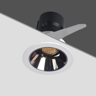 HS021 嵌入式射灯 8W 36° 4000K 白色