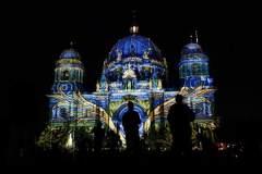 德国柏林灯光节开幕
