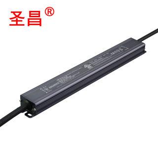 30w-150w 12v24v36v48v 恒压 防水细长型不调光LED驱动电源