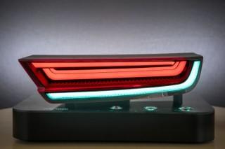 现代汽车开发新型柔性LED车灯,一灯多用可充当尾灯和刹车灯