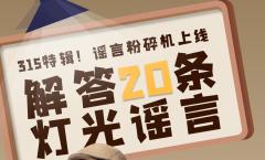315特辑徐老师在线直播辟谣:如何完美地避开照明中会遇到的坑!