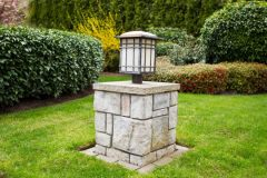 庭院灯一般多高?庭院灯基础尺寸及做法